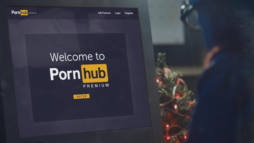 Одиночество наРождество: Pornhub выпустил торжественный рекламный видеоролик