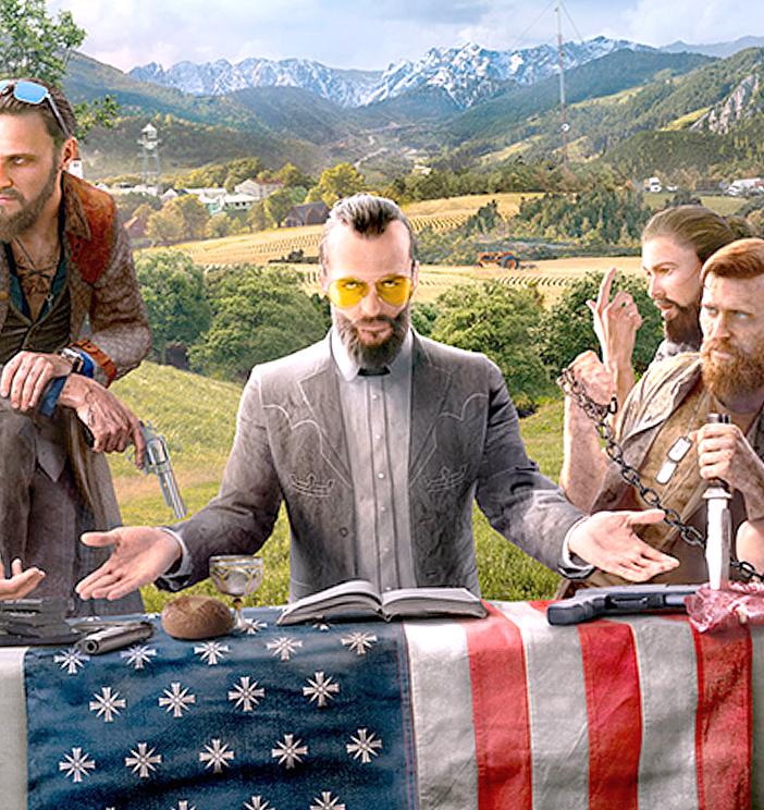 Официальные тизеры Far Cry 5 появились вглобальной паутине