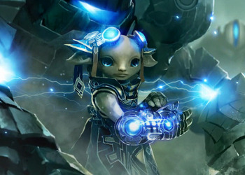 Снимок экрана Guild Wars 2. Азура (Asura)