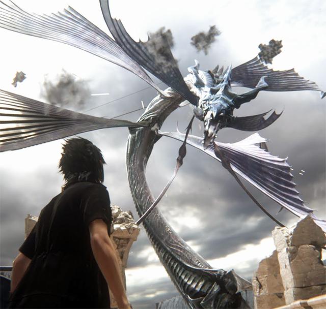 Final Fantasy XV— НаGDC была показана тестовое демо ПК-версии