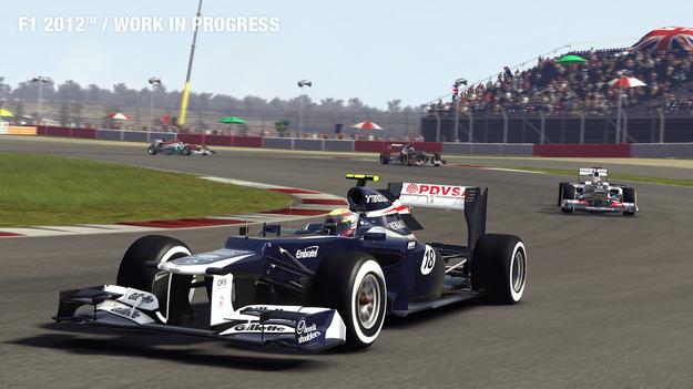 Демо версия игры F1 2012 появится на следующей неделе