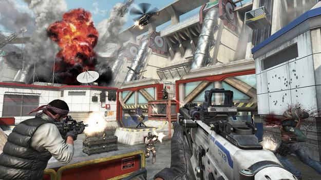 Создатели Call of Duty: White Ops 2 показали свежую карту для режима с зомби