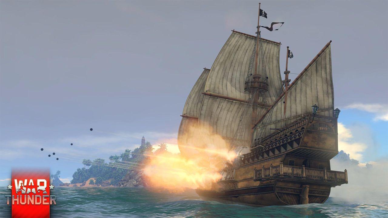 war thunder парусный флот