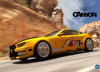 Скриншот Trackmania 2 Canyon