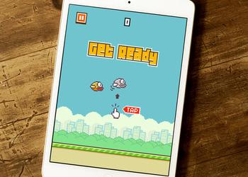 Снимок экрана Flappy Bird