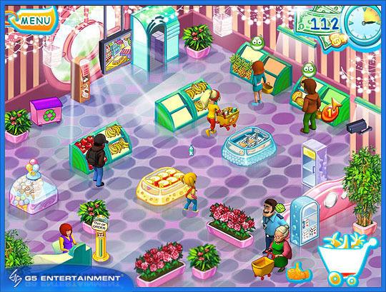 Скачать бесплатно Игру Supermarket Mania/Супермаркет Мания (полная