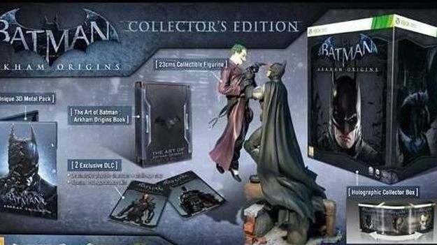 В интернете возникла информация о коллекционном журнале игры Batman: Arkham Origins