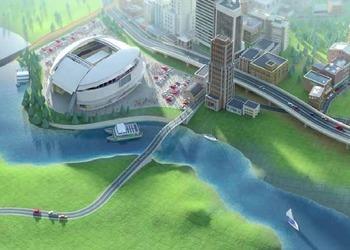Снимок экрана SimCity 2012
