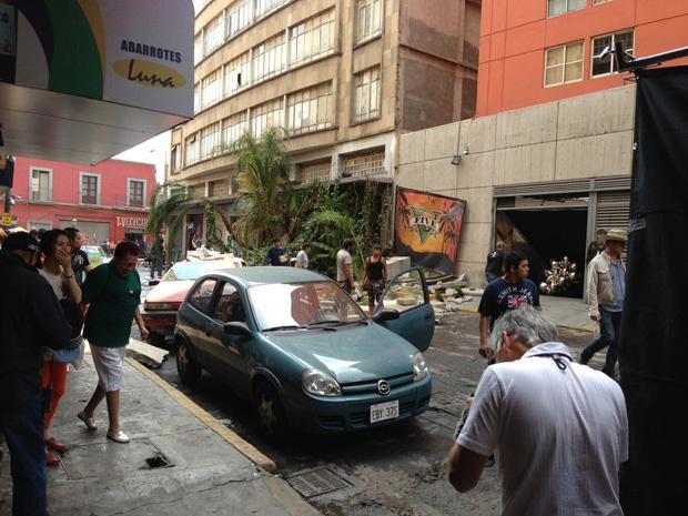 Take-Two снимает рекламный видеоролик игры GTA V с погонями на улицах Мехико