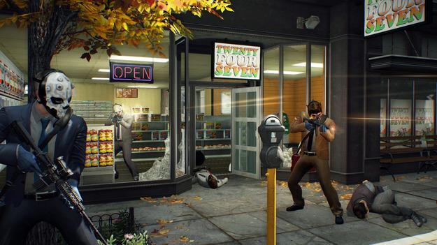Создатели PayDay 2 начали открытое beta-тестирование игры