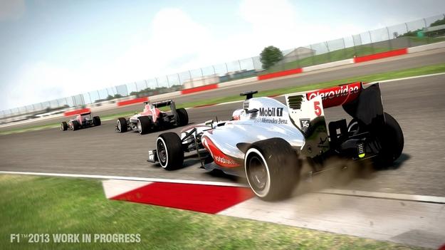 Игра F1 2013 будет на свет 4 ноября