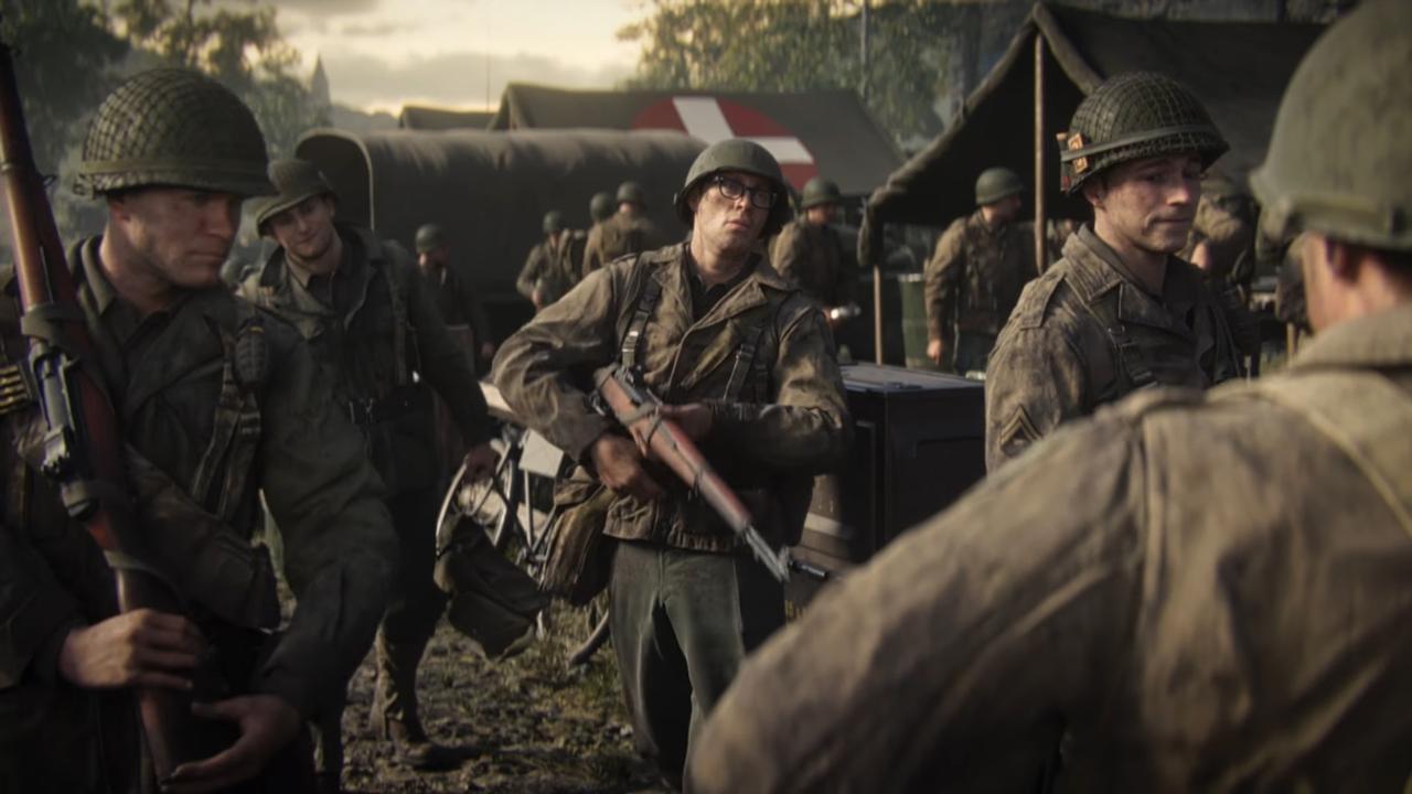 Вышел сюжетный трейлер Call ofDuty: WWII