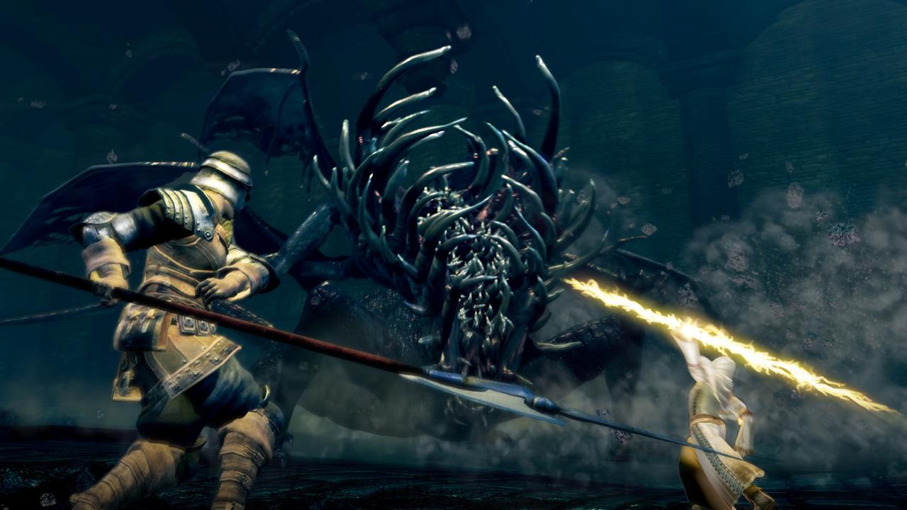 Смотрим наотличия вграфике между Dark Souls Remastered иоригиналом