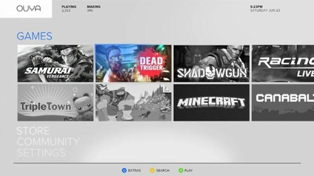 Первая свободная игровая консоль Ouya будет в середине января