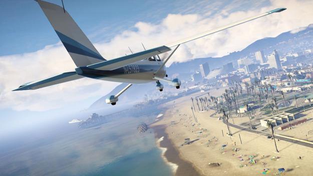 Создатели игры GTA V заселили Лос-Сантос пятикратным числом пешеходов