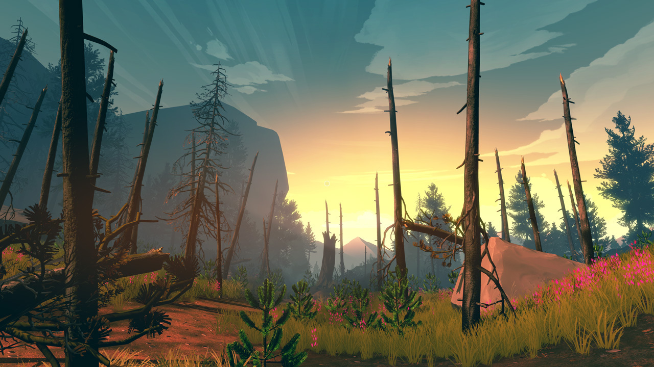 Firewatch (2016) PC - Скриншот 2
