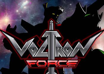 Логотип мультика Voltron Force