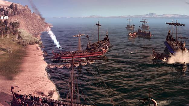 Total War: Rome II гигантский скриншот