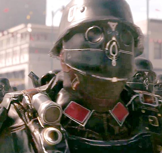 Размещен новый геймплейный трейлер Wolfenstein 2: The New Colossus