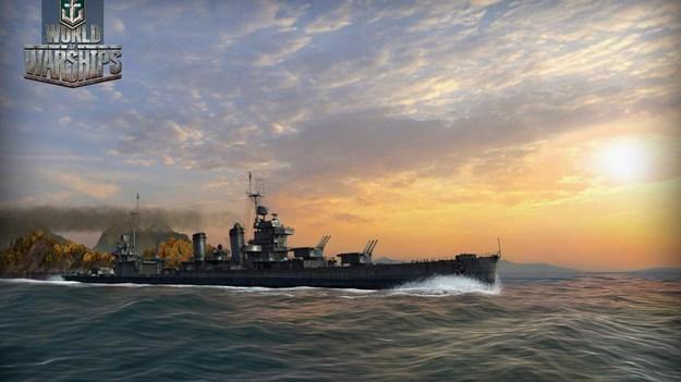 Создатели World of Warships обнародовали свежие снимки экрана к игре