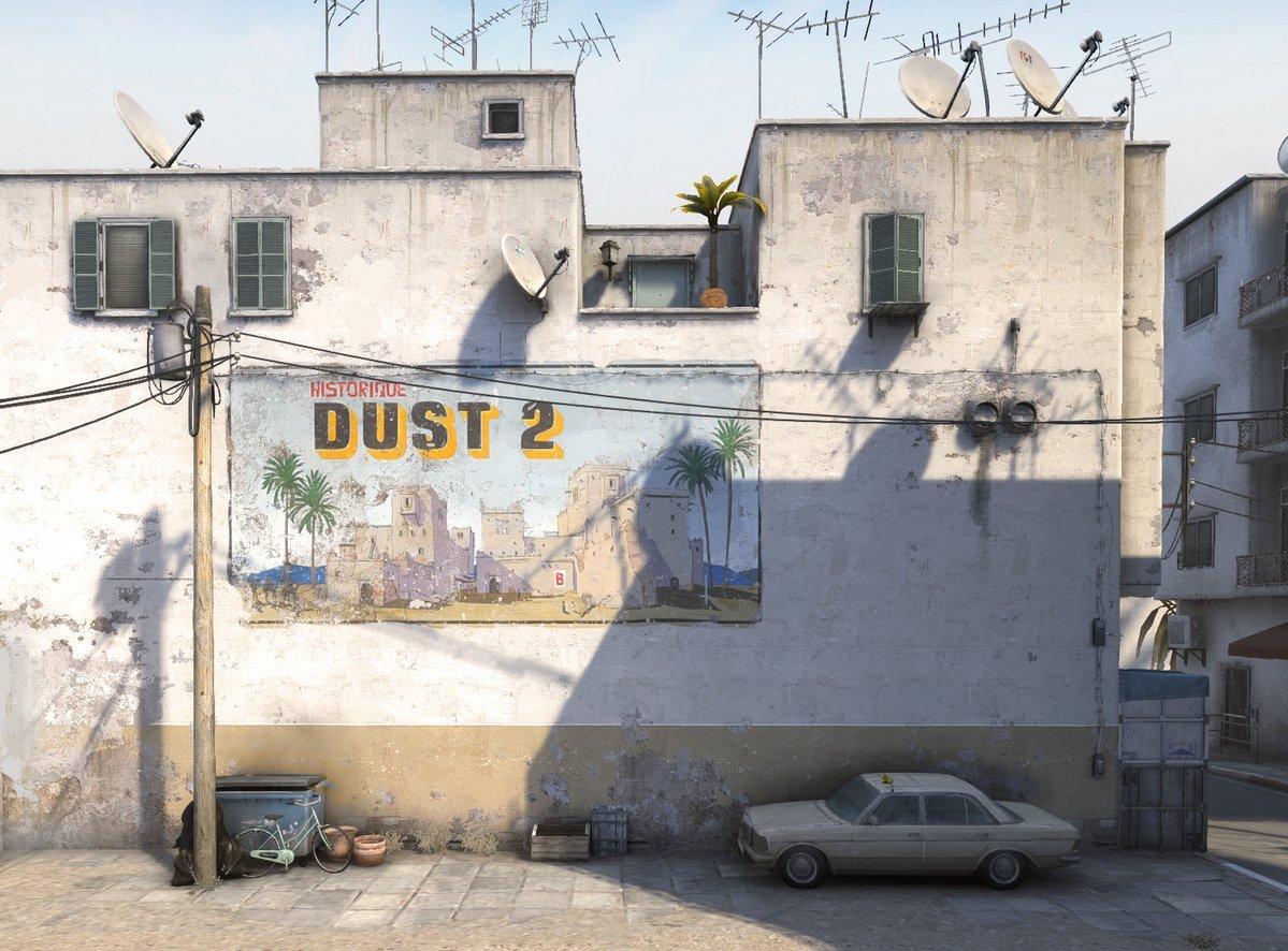 CS: GO: Valve готовятся квыпуску улучшенного Dust 2