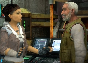 Снимок экрана Half-Life 2