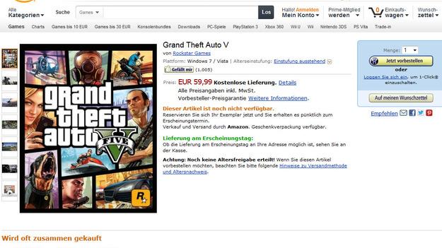 Rockstar  делает РС модификацию игры GTA V