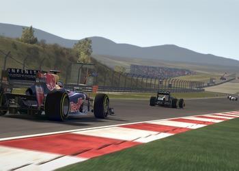 Снимок экрана F1 2011