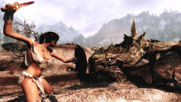Добавление Dragonborn к игре The Elder Scrolls 5: Skyrim на РС будет в 2016 году