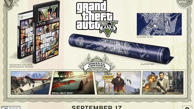 Rockstar объявила коллекционные издания игры GTA V