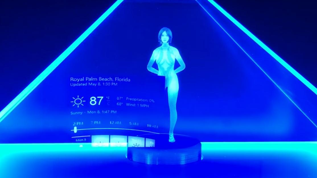 Microsoft показала как создают голограммы к Mixed Reality