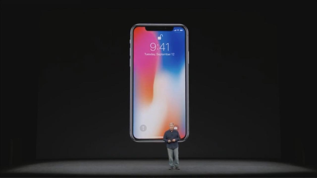Apple официально представила новый iPhone X