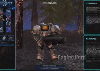 Скриншот мода StarCraft Universe