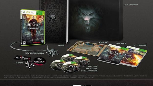 Британцы раскупили издание Dark Edition игры Ведьмак 2