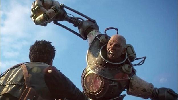 Irrational Games обнародовала изображение незнакомого киборга в игре BioShock Infinite