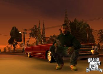 Снимок экрана GTA: San Andreas