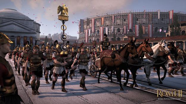 Размещены системные условия игры Total War: Rome II