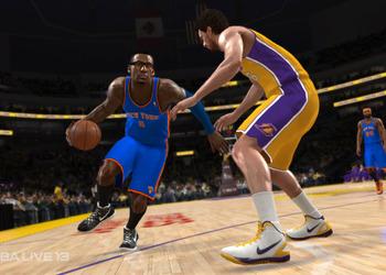 Снимок экрана NBA Live 13
