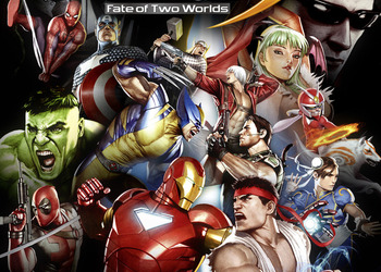Бокс-арт Marvel vs. Capcom 3: Fate of Two Worlds