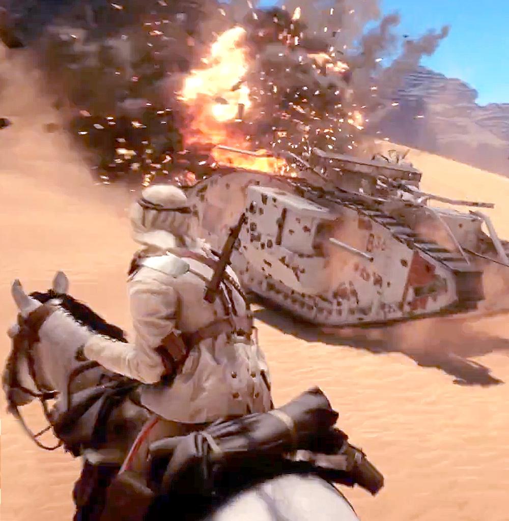 Battlefield 1— новый трейлер иоткрытое бета-тестирование