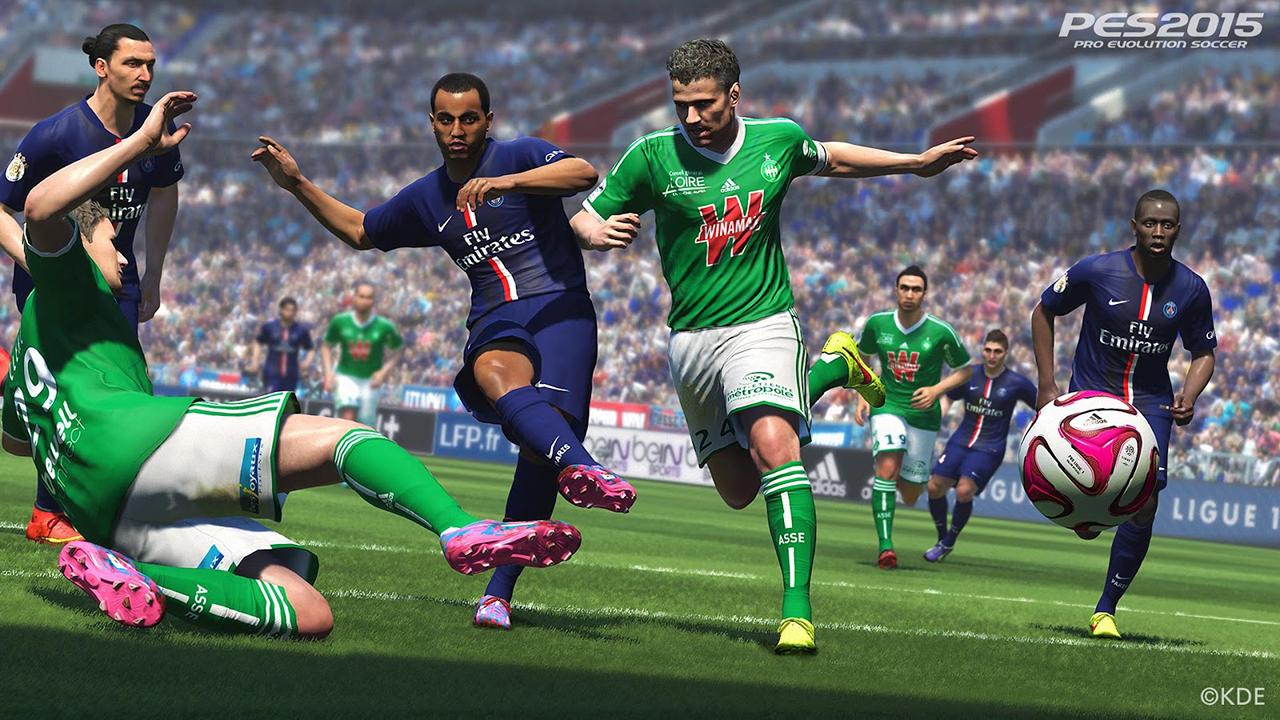 Компания Konami выпустила демо-версию игры PES 2015 для РС