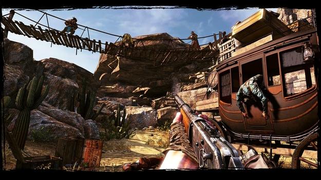 Обнародован обновленный трайлер к игре Call of Juarez: Gunslinger