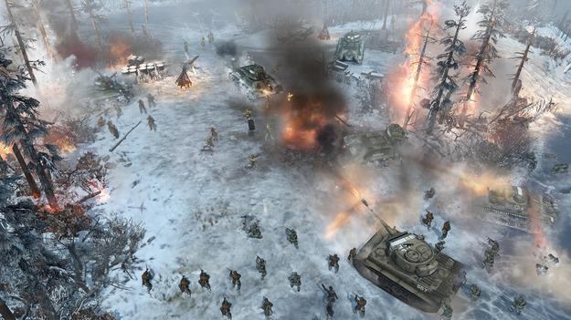 Создатели Company of Heroes 2 продемонстрировали обновленный игровой порядок