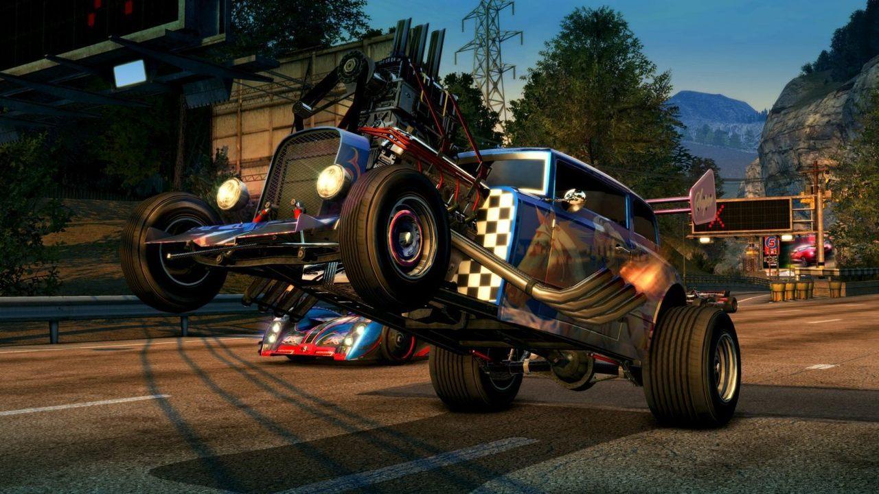 Стало известно овыходе новой версии Burnout Paradise для PS4 иXbox