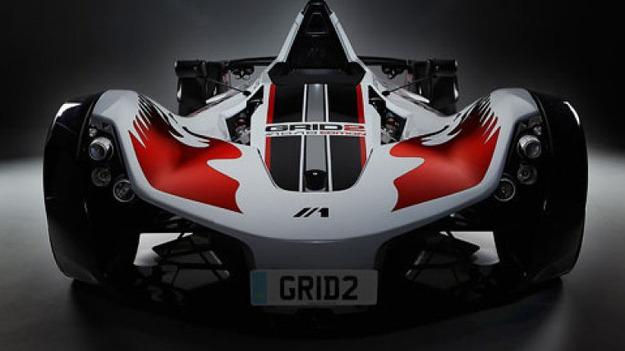 В уникальном отдельном журнале игры Grid 2 будет реальный супер-кар
