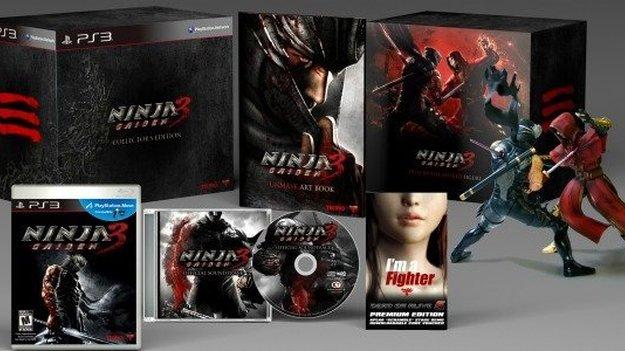 Анонсировано коллекционное издание игры Ninja Gaiden 3
