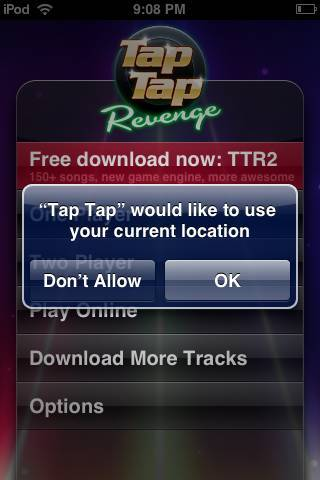 Tap tap revenge tracks