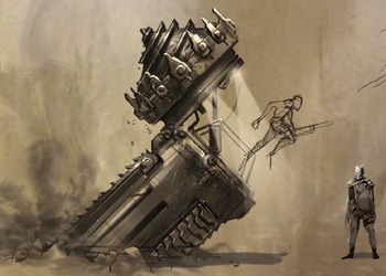 Концепт-арт The Brutal Ballad of Fangus Klot