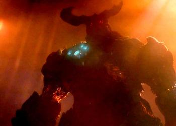 Снимок экрана тизера Doom 4
