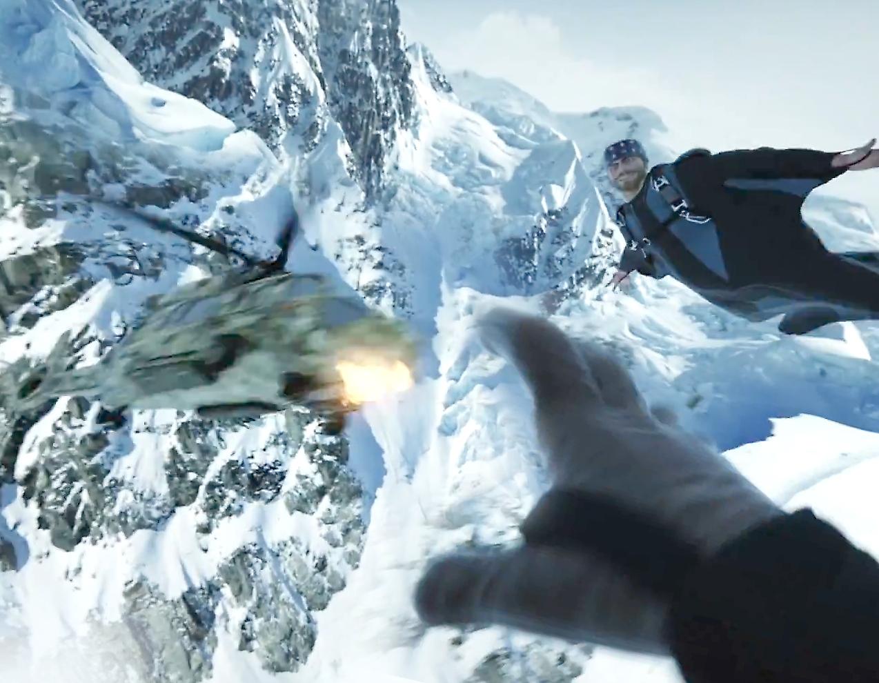 Йокке Соммер спрыгнул с вершины горы, чтобы показать игрокам Far Cry 4 всю реалистичность полета на вингсьюте
